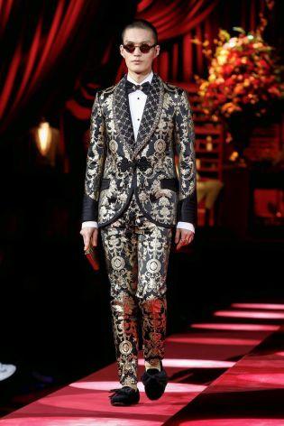 Dolce & Gabbana Menswear Fall Winter 2019 Milan94