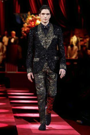 Dolce & Gabbana Menswear Fall Winter 2019 Milan95