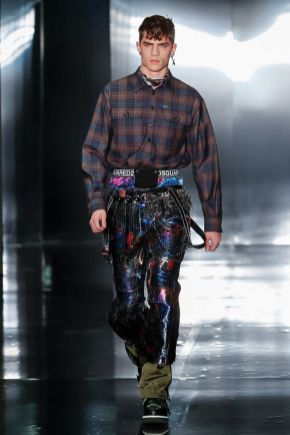 Dsquared2 Men & Women Fall Winter 2019 Milan24