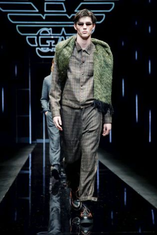 Emporio Armani Menswear Fall Winter 2019 Milan105