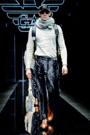 Emporio Armani Menswear Fall Winter 2019 Milan113
