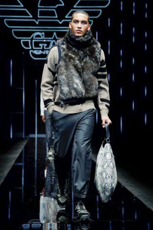 Emporio Armani Menswear Fall Winter 2019 Milan119