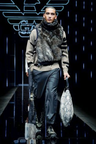 Emporio Armani Menswear Fall Winter 2019 Milan119
