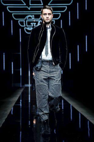Emporio Armani Menswear Fall Winter 2019 Milan12