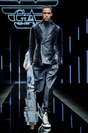 Emporio Armani Menswear Fall Winter 2019 Milan19
