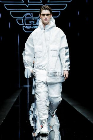 Emporio Armani Menswear Fall Winter 2019 Milan59