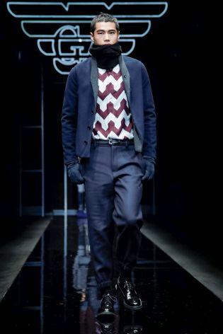 Emporio Armani Menswear Fall Winter 2019 Milan77