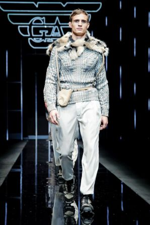 Emporio Armani Menswear Fall Winter 2019 Milan95