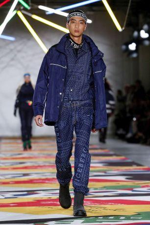 Iceberg Womenswear Menswear Fall Winter 2019 London18