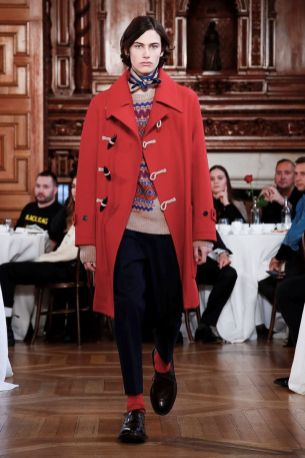 Kent & Curwen Fall Winter 2019 London19