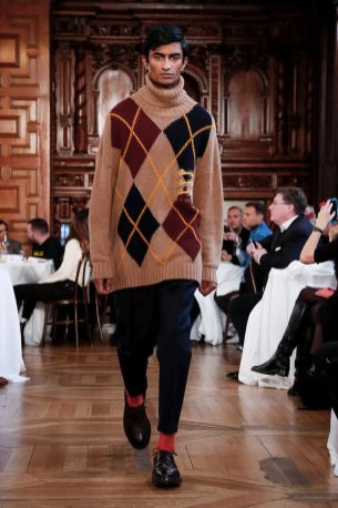 Kent & Curwen Fall Winter 2019 London24