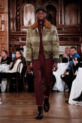 Kent & Curwen Fall Winter 2019 London6