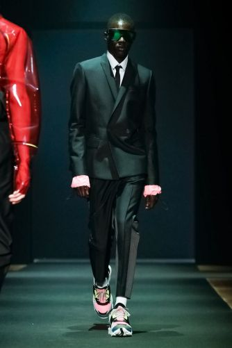 Les Hommes Menswear Fall Winter 2019 Milan40