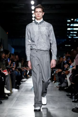 MSGM Menswear Fall Winter 2019 Milan10