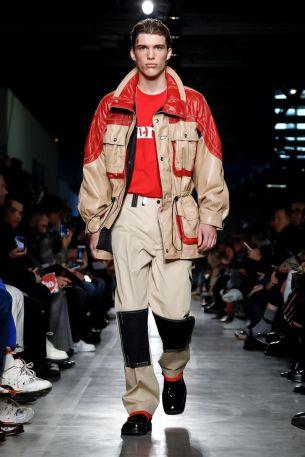 MSGM Menswear Fall Winter 2019 Milan24