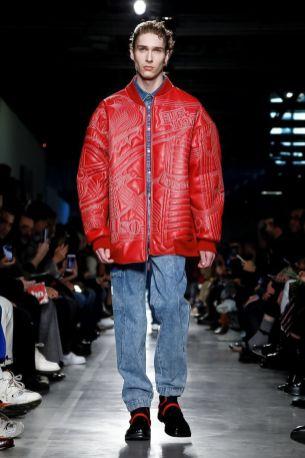 MSGM Menswear Fall Winter 2019 Milan25
