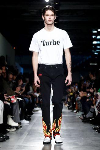 MSGM Menswear Fall Winter 2019 Milan3