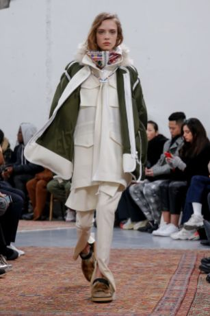 Sacai Menswear Fall Winter 2019 Paris14