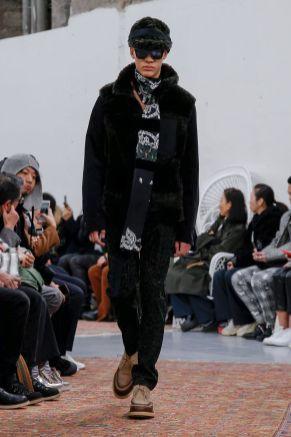 Sacai Menswear Fall Winter 2019 Paris18