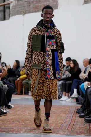 Sacai Menswear Fall Winter 2019 Paris22