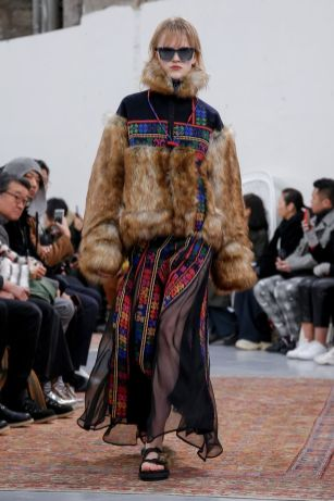 Sacai Menswear Fall Winter 2019 Paris29