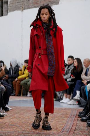 Sacai Menswear Fall Winter 2019 Paris30