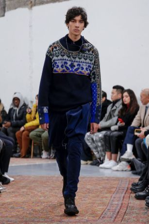 Sacai Menswear Fall Winter 2019 Paris34