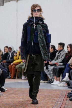 Sacai Menswear Fall Winter 2019 Paris40