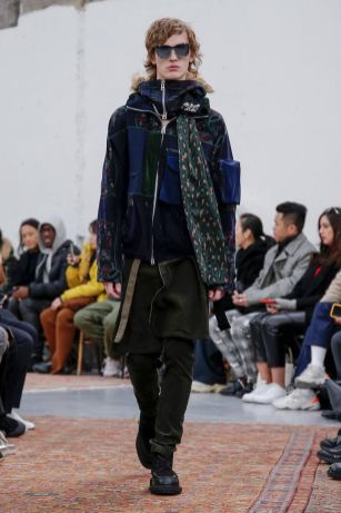 Sacai Menswear Fall Winter 2019 Paris40