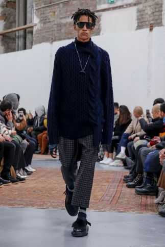 Sacai Menswear Fall Winter 2019 Paris51