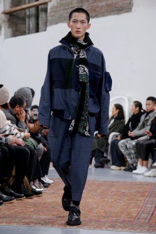 Sacai Menswear Fall Winter 2019 Paris53