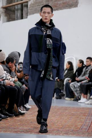 Sacai Menswear Fall Winter 2019 Paris53