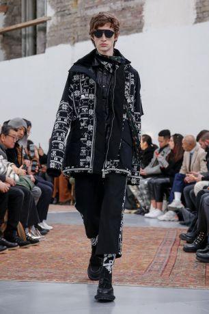 Sacai Menswear Fall Winter 2019 Paris62