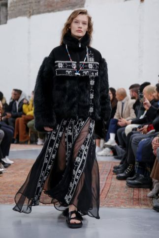 Sacai Menswear Fall Winter 2019 Paris64