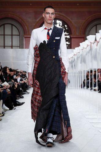 Thom Browne Menswear Fall Winter 2019 Paris27