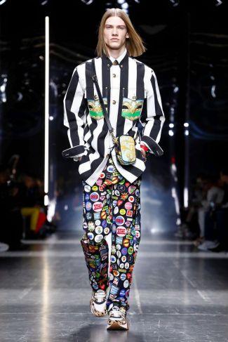 Versace Menswear Fall Winter 2019 Milan47
