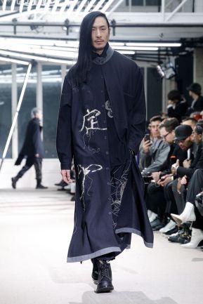 Yohji Yamamoto Menswear Fall Winter 2019 Paris9