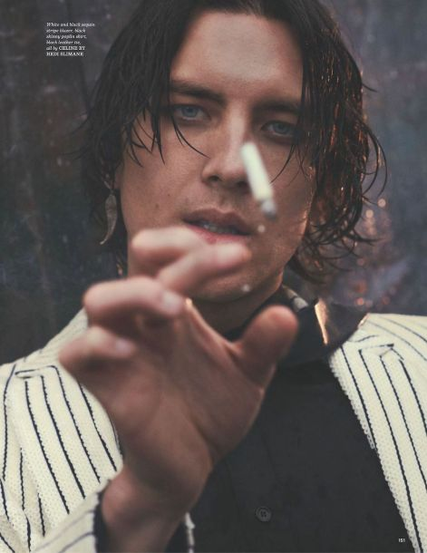 Cody Fern by Cedric Buchet for GQ UK Style SS195