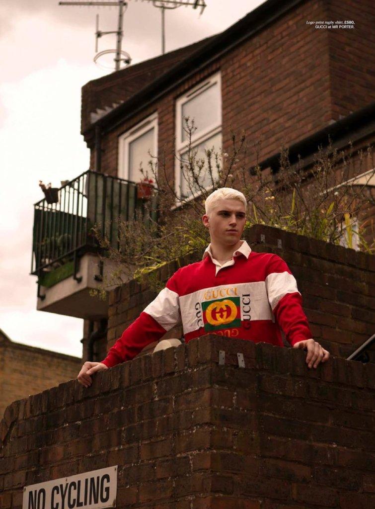 Billy by Jakub Koziel for Gay Times #497