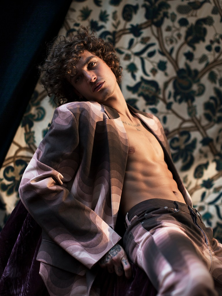 Jonathan Bellini by Karl Simone for GQ Brazil July 2019