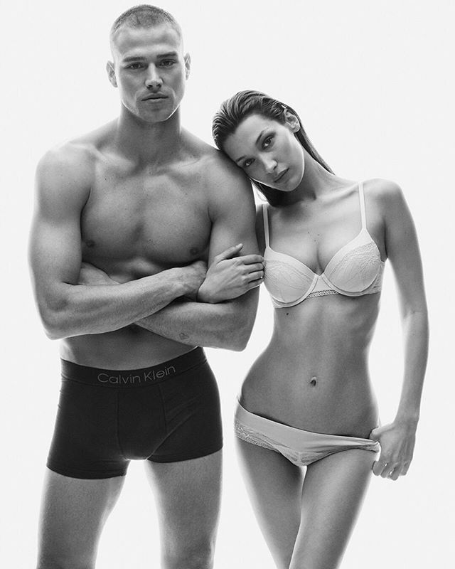 Matthew Noszka and Cara Taylor for Calvin Klein's New Campaign 1981 BOLD
