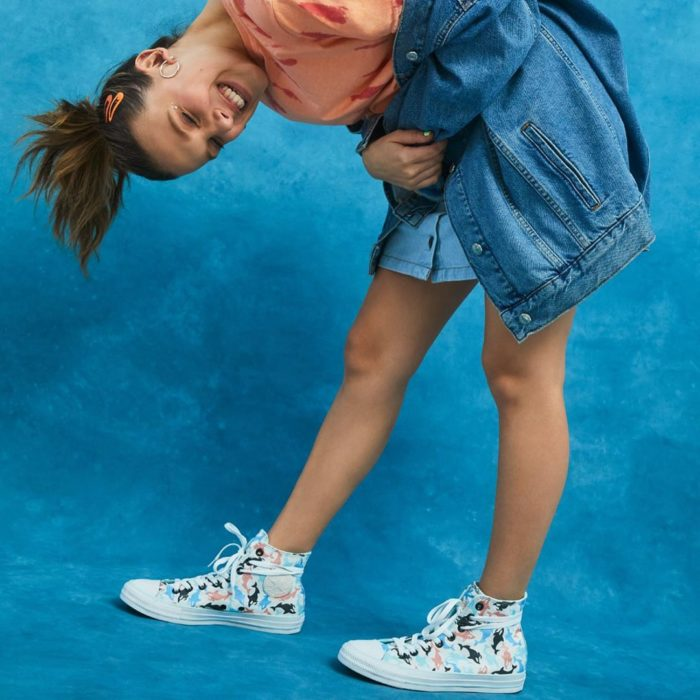 Millie Bobby Brown x Converse