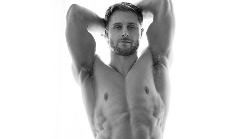 Trevor O by Lucas F for Fashionably Male cover