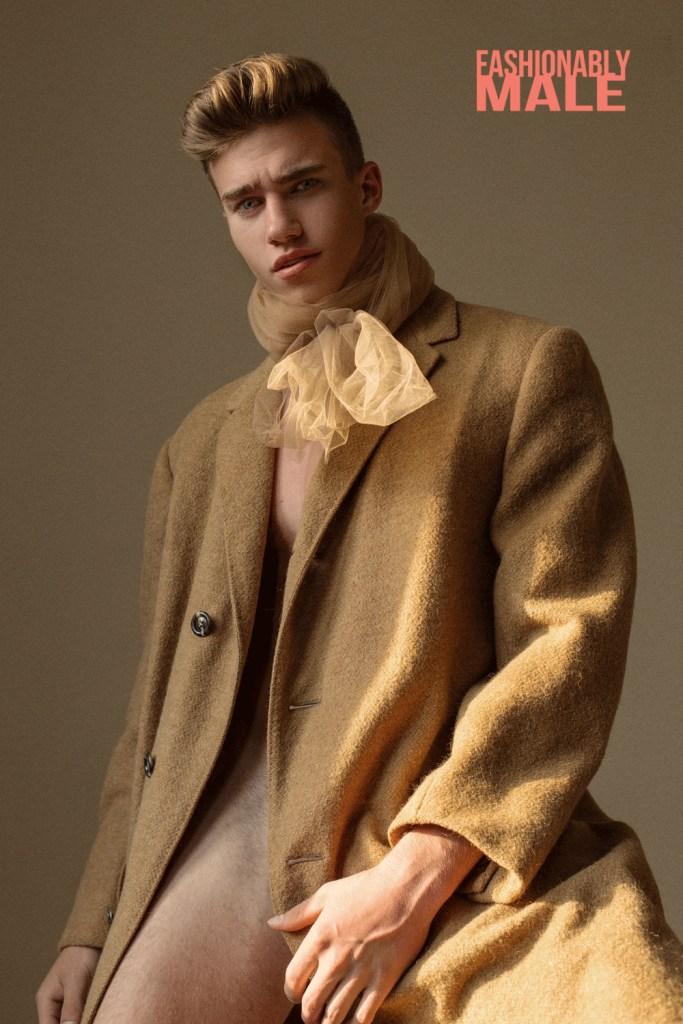 Valera Pristupa by Victor Lluncor for Fashionably Male