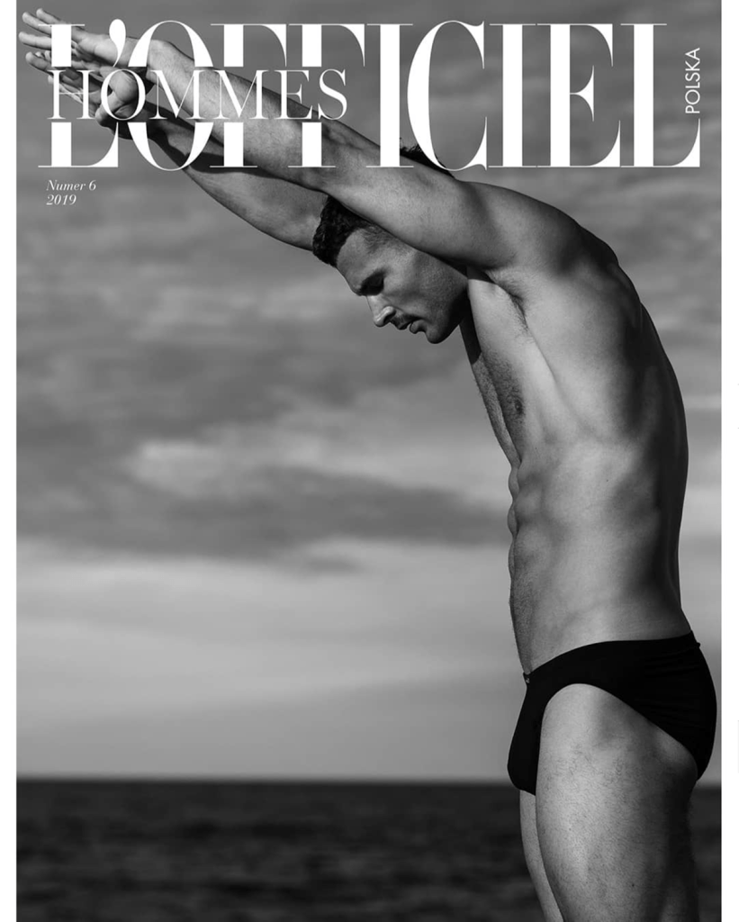 Summer Issue with Walter Savage for L'Officiel Hommes Poland