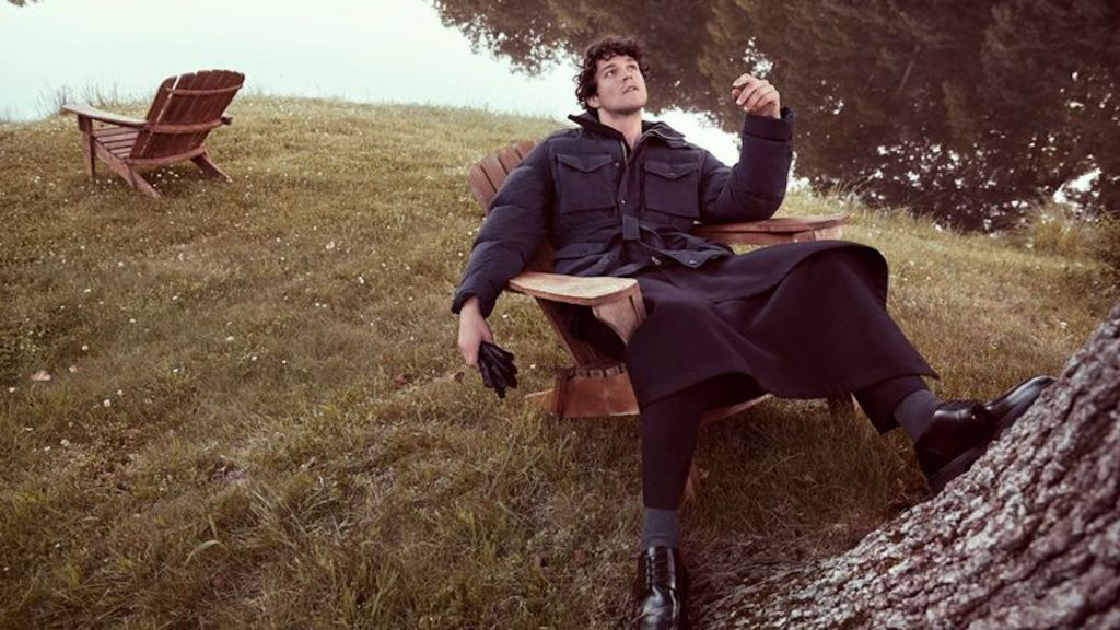 Miles McMillan for GQ Russia October 2019 Issue cover