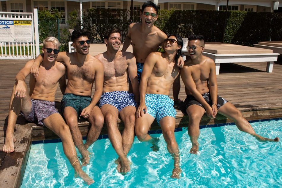 Prince and Bond Swimwear Pool Party Event