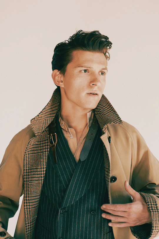 Tom Holland by Fanny Latour-Lambert for GQ Style September 2019
