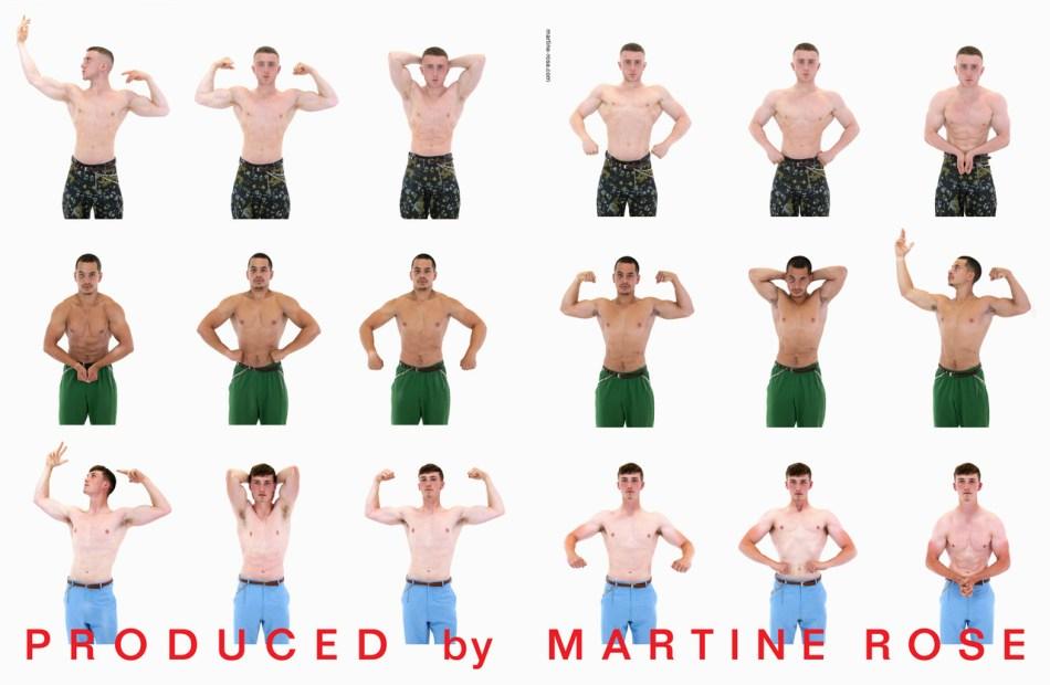 Martine Rose SS20 Campaign