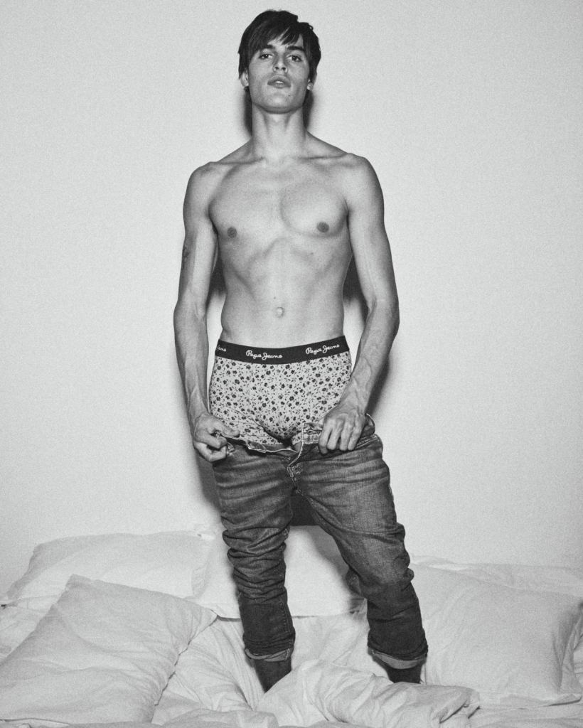 It's Parker Baby! | Campaign Pepe Jeans Underwear AW 2019